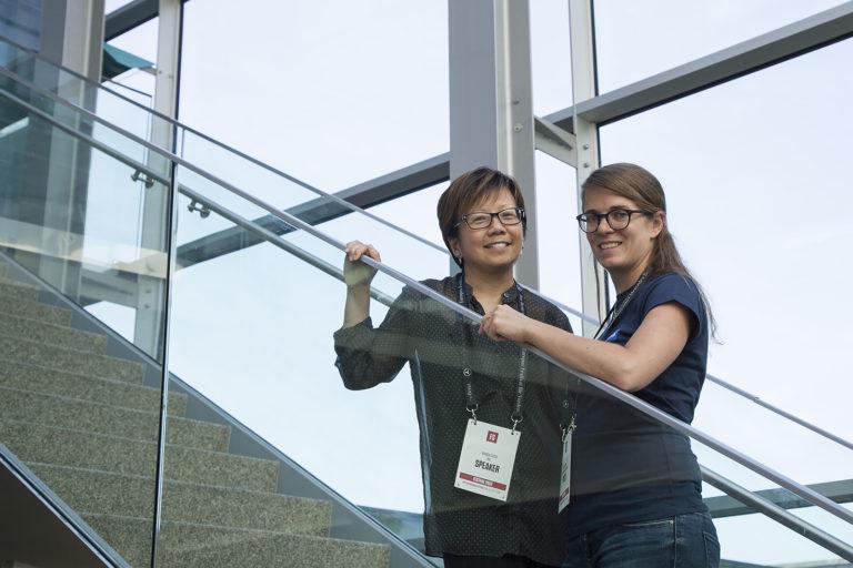 Mandy Chooi and Lucia Schöpfer